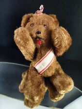 Schuco Berlin Bear   BROWN    4 1/2 INCHES