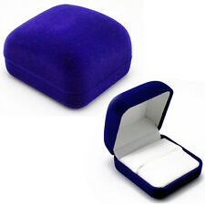 Delicate Fashion Blue Jewelry Box For Ring Bracelet Pendant Beads Earrings Pins