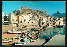 Cefalù ( Palermo ) : La Marina -  cartolina viaggiata nel 1983