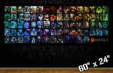 "HUGE 60""x24"" DOTA 2 *new* collectible poster wall art defense of the ancients"