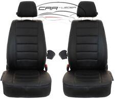 Maßgefertigte Schonbezüge Fiat Doblo II 2010 - ... Kunst Leder Sitzbezüge 1+1