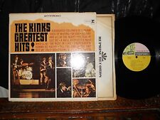Greatest Hits! By The Kinks LP 1966 Reprise, Pink, Gold & Green~Label 1st Press!