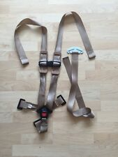 Britax 5 Point Harness Tan Chest Clip Back Adjuster Strap