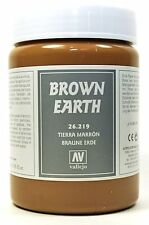 Vallejo Texture Brown Earth - 200ml - 39596