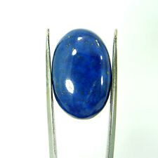 24.90 Ct Natural Oval Cab Blue Lapis Lazuli Gold Flakes Loose Gemstone - 9135
