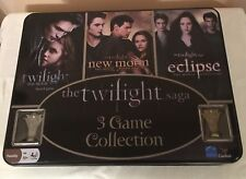 The Twilight Saga 3 Game Collection Tin Boxed Set New Open Box Twilight New Moon