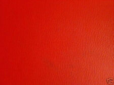 """RED MARINE GRADE Vinyl Upholstery sold by the yard 36"""" by 54"""" like NAUGAHYDE"""