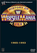 Official WWE - History of Wrestlemania I-IX DVD