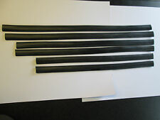 ROVER P6 RUBBER DOOR TO WING AND DOOR TO DOOR VERTICAL SEAL SET OF 6
