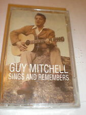 Guy Mitchell CASSETTE NEW Sings and Remembers