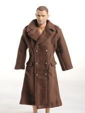 1/6 Scale Dragon WWII US Army Brown Overcoat man clothing  for action figure