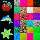 1000 pcs 5mm EVA Hama Perler Beads For Great Kid Fun Child Gift Educational Toy