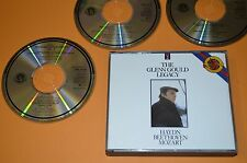 The Glenn Gould Legacy - Haydn, Beethoven, Mozart / CBS 1985 / 3CD Box 1st. Rar