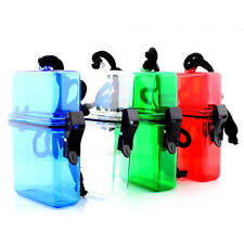 Plastic Container Case Key Money Cellphone Box Storage Holder Waterproof 1pc