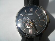 Fossil Automatic men's leather dress analog watch.mechanical & automatic.ME-3061