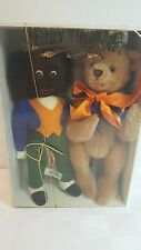 MerryThought Playmates bear & his friend set #399/500