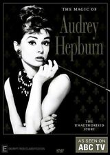 THE MAGIC OF AUDREY HEPBURN DVD New & Sealed Region 4 As Seen On ABC TV Story