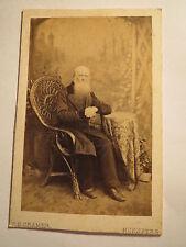 Nürnberg - 1861 - J. M. Eidam in Nürnberg als alter Mann - 76 Jahre alt / CDV