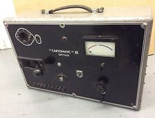 Collectable Philips Cartomatic III Tube Tester GM-7633/02 Instrument Prüfgerät