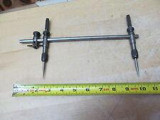 L.S. Starrett No. 251 Vintage Beam Trammel Points Machinist Tool