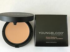 Youngblood Mineral Cosmetics Radiance Creme Powder Foundation HONEY