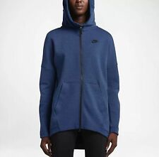 Nike Women's Tech Fleece Cape Hoodie 'Coastal Blue' (S) 811710 423