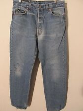 F2745 Levi's 501 USA Made Cool Grungy Jeans Men's 33x32