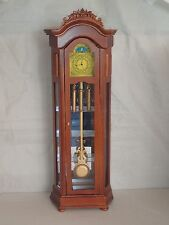"""1/6 th scale working grandfather clock Blythe Barbie Fashion 12 to 14"""" doll bear"""