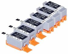 6 NON-OEM Ink for Canon BCI-15 BCI15 BK BCI-16 i70 i80 i90