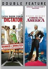 The Dictator/Coming to America (DVD, 2014, 2-Disc Set)Brand New