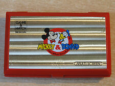 Mickey & Donald Double Screen Game & Watch by Nintendo / Handheld Electronic