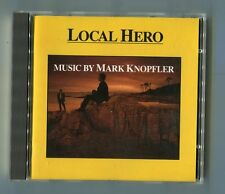 Mark Knopfler  cd  LOCAL HERO © 1983 first press BLUE SWIRL vertigo # 811 038-2