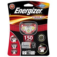 Energizer led hd de vision phare mains libres headtorch 150 lumens projecteur