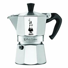 Bialetti 6799 Moka Express 3-Cup Stovetop Espresso Maker, New, Free Shipping