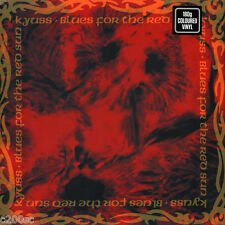 KYUSS - BLUES FOR THE RED SUN, 2016 GERMAN 180G RED MARBLED vinyl LP, SEALED!