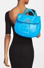 NWT $498+ Marc by Marc Jacobs MARCHIVE Backpack Blue Glow Leather Bag Purse NEW