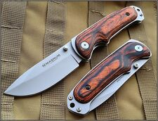 BOKER MAGNUM BUSH COMPANION FOLDING KNIFE 5 INCH CLOSED 440 STAINLESS STEEL
