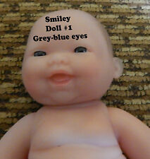 "5"" Inch Baby Doll Berenguer Blue EYES Smiley Face Lot of Love Super Hot Item"