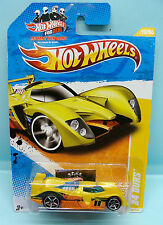 2055 HOT WHEELS / CARTE US / 2011 NEW MODELS / 24 OURS JAUNE 1/64