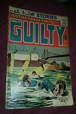 Justice Traps the Guilty #87 (Vol. 10#3) Jun-Jul 1957 Prize golden age detective