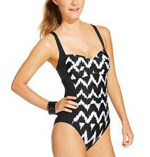 La Blanca Printed One-Piece Swimsuit, 8