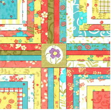 """2 RARE - 5"""" LOVELY MODA CHARM PACKS + PATTERN Quilt KIT by Sandy Gervais Fabric"""
