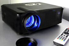 Open Box Fugetek FG-857 720P HD LCD Video Projector USB&HDMI Gaming, PC, Mo