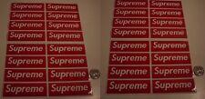 supreme box logo red sticker vinyl decal pack lot of 32 skateboard laptop car