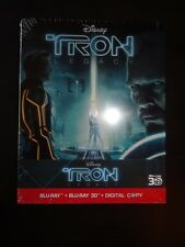 Tron Legacy: German steelbook! 3D! 2D! CODEFREE! NEW!