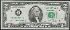 TMM* 1976 US Bank Note $2 FRN F# 1935f Neff/Simon Ch Unc+