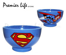 Superman Ceramic Bowl - Superman Cereal / Breakfast Bowl