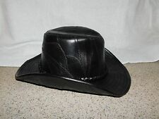 Large Casual Outfitter Leather Cowboy Hat