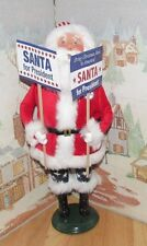 Byers Choice Exclusive Santa for President with Signs 2016   *