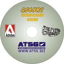 ATSG AISIN Dodge Isuzu AS68RC Transmission Technician Manual Rebuild Repair CD